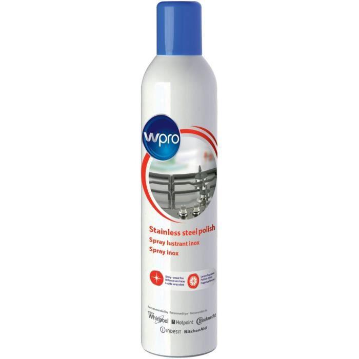 Wpro IWC015 - Lucidante per acciaio inossidabile e vetro - Aerosol da 400 ml