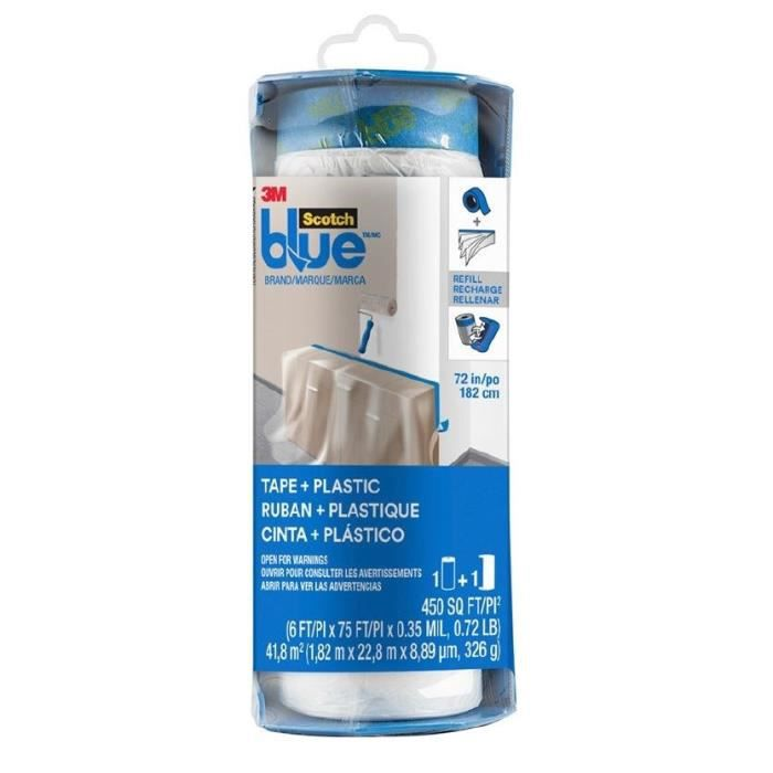 3M Ricarica per telone autoadesivo in dispenser ScotchBlue - Taglia XL