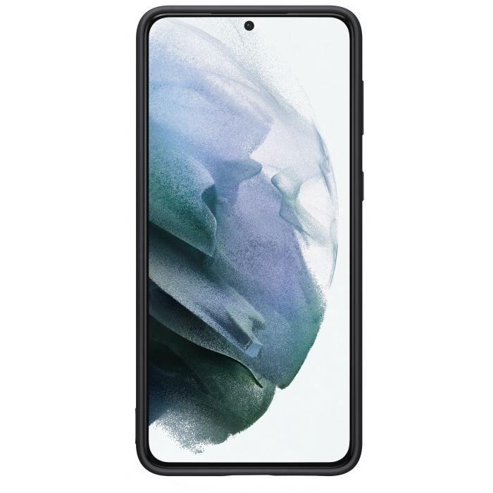Cover in silicone S21 Plus Nera