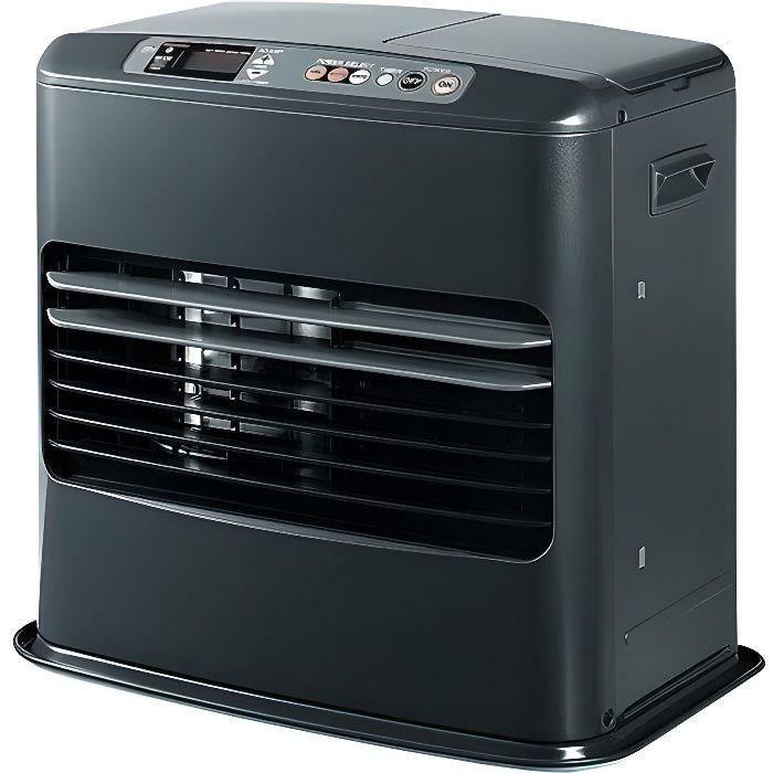 TOSAI 4602 - 4600 watt - Fornello elettronico a cherosene - Rilevatore di CO2 - Dispositivi di sicurezza multipli.