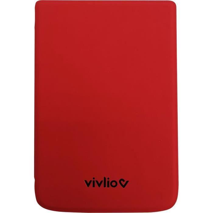 VIVLIO - Custodia protettiva intelligente compatibile TL4 / TL5 e THD + - Rossa