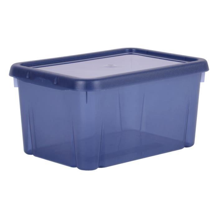 scatola di immagazzinaggio 4 L blu