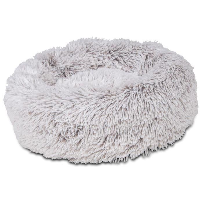 VADIGRAN Donut Harry - Ø40x20 cm - Beige, brun et gris - Pour chien