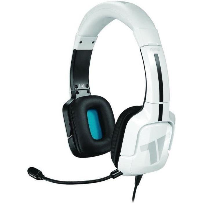 Bianco TRITTON KAMA + auricolare compatibile PS5, PS4, XBOX, PC