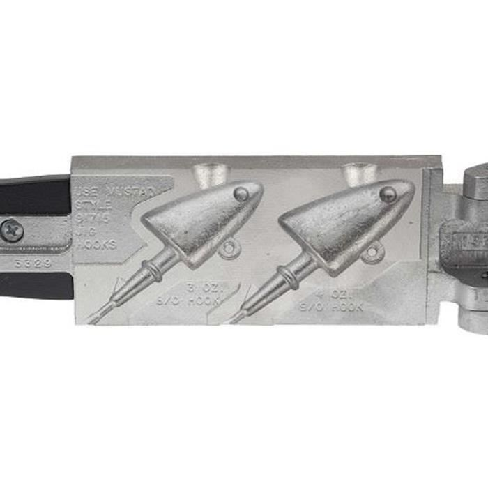 DO-IT Stampo in piombo a forma di testa Shad JIG-SHB-2-43