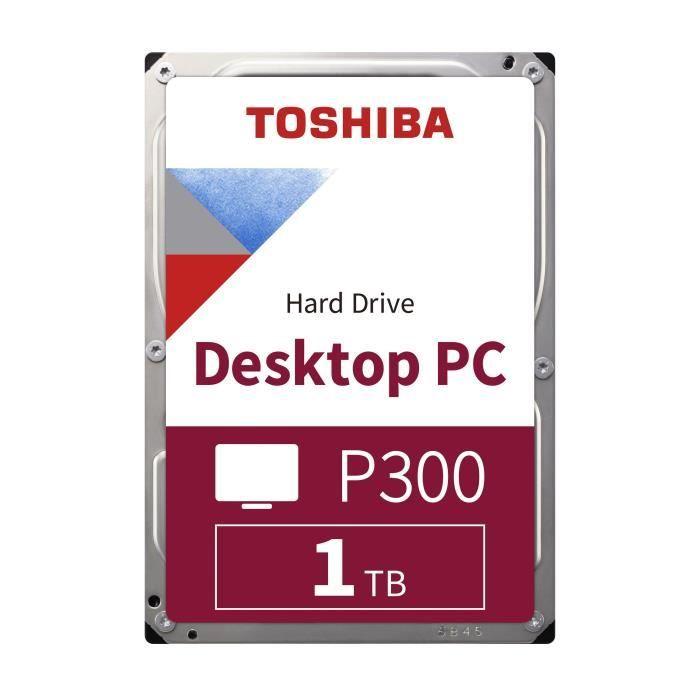TOSHIBA - Disque dur Interne - P300 - 1To - 7200 giri / min - 3,5 \