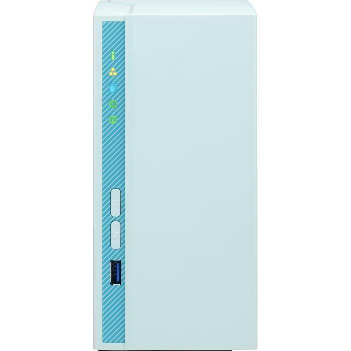 QNAP - Storage Server (NAS) - TS-230 - 2 alloggiamenti - Case nudo