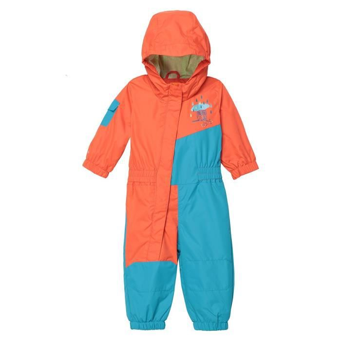 WANABEE Combinaison bébé ski membrane imperméable- mixte - rouge/bleu