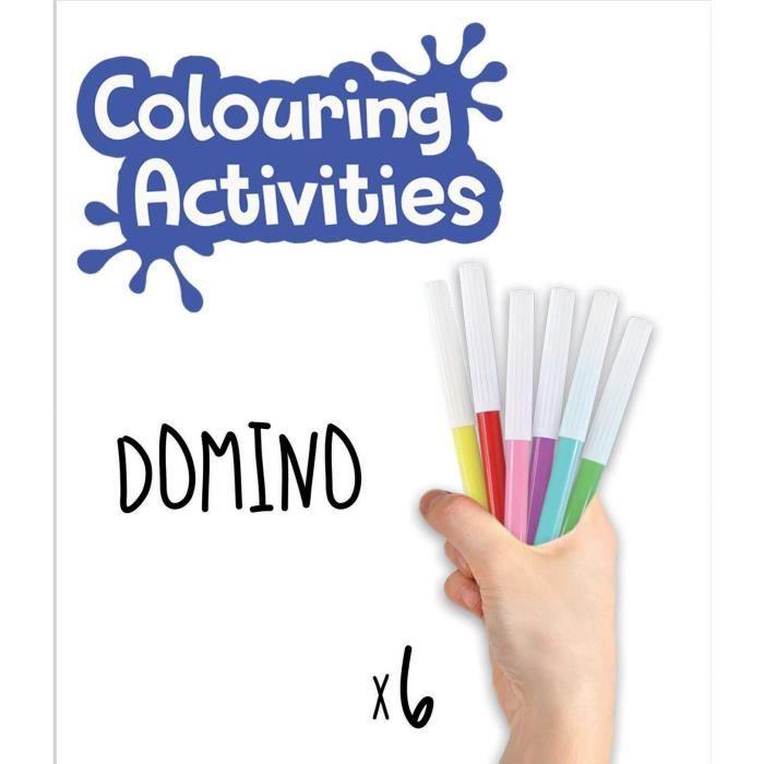 EDUCA - branco domino di animali da colorare
