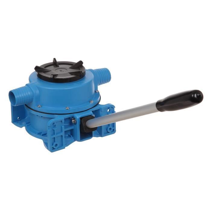 PLASTIMO Pompe de cale a membrane - Simple Effet - Débit 0.8 L par cycle - Embout droit