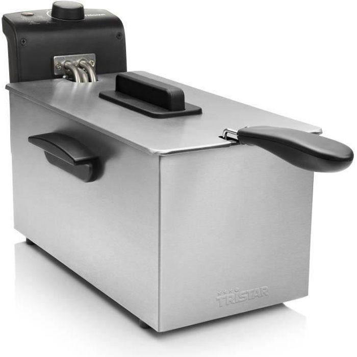 TRISTAR - FR-6946 - Friggitrice - 3L - 2000W - Cassa in acciaio inossidabile
