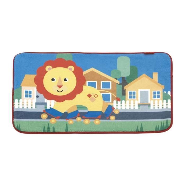 PREZZO FISHER Tappetino per bambini Lion - 45x75 cm