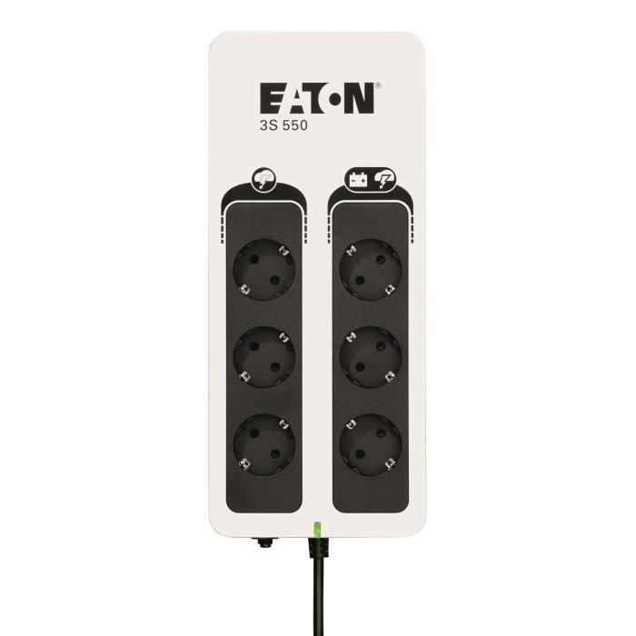 EATON UPS offline 3S Gen 2 (3S550D) - 550VA - Spine europee