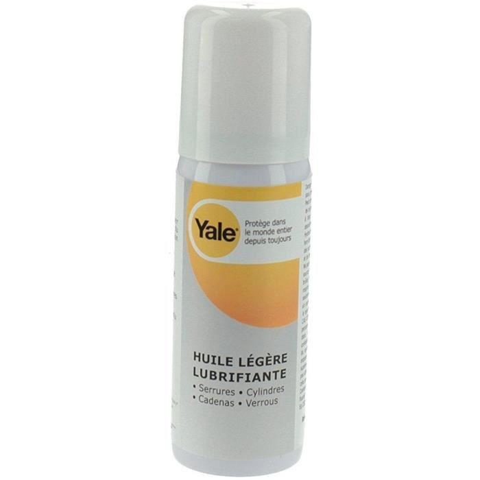 Lucchetto Yale, lucchetto, cilindro, lubrificante per lucchetti, 50 ml