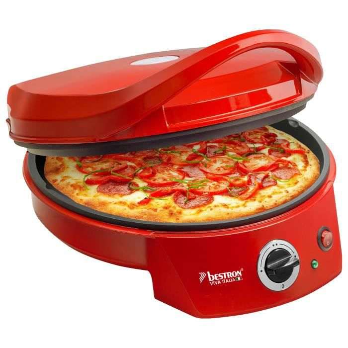 Besole000 APZ400 Forno per Pizza - Rosso