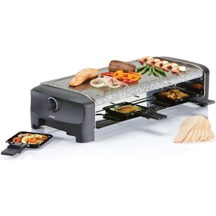 PRINCESS 162830 grill per raclette per 8 persone - nero