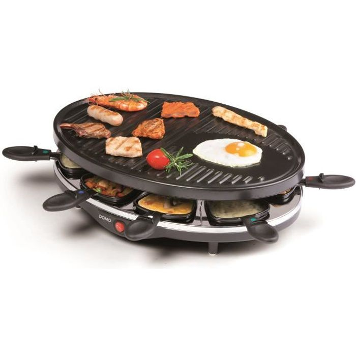 Raclette - DOMO Grill - 8 persone DO9038G