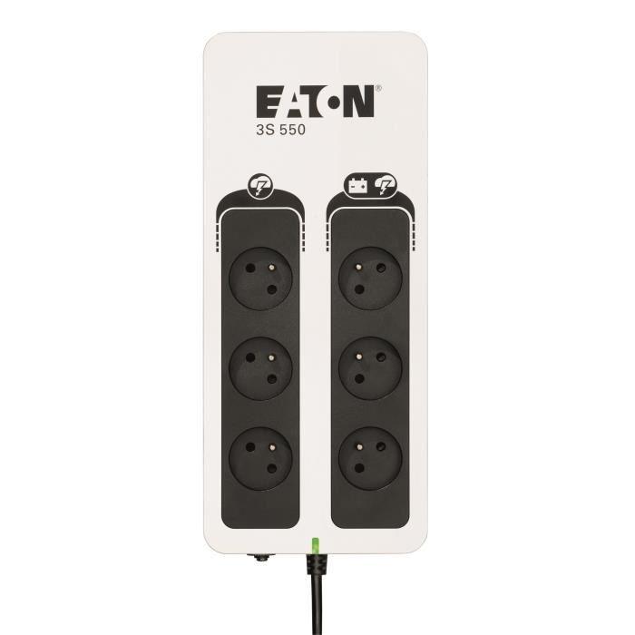 EATON UPS offline 3S Gen 2 (3S550F) - 550VA - Spine francesi
