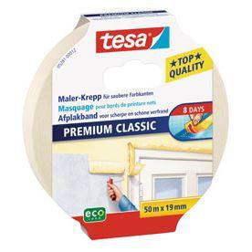 Besole000 Protection Classic nastro per mascheratura - 50 mx 19 mm - Nessuna traccia 8 giorni