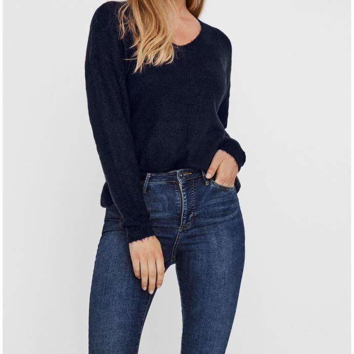 VERO MODA Pull - Femme - Navy Blazer