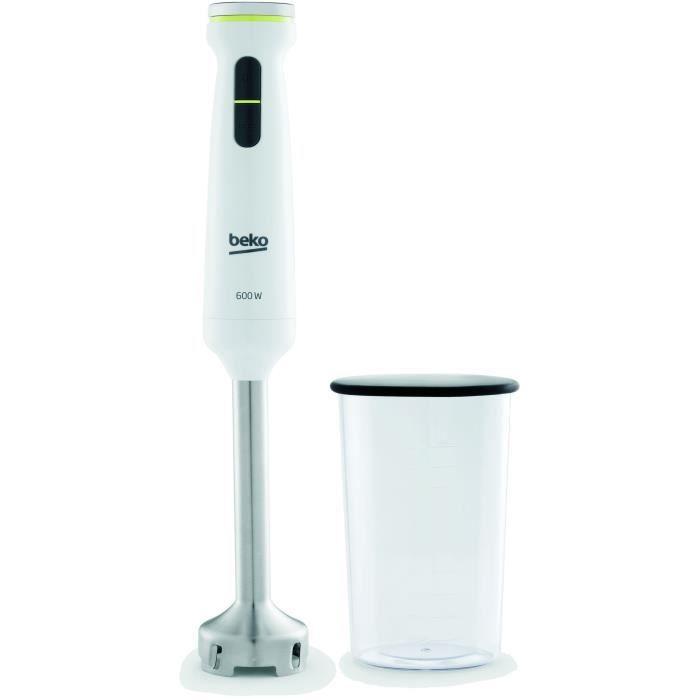 Bicchiere graduato BEKO per frullatore a immersione - HBS7600W - Linea Metropolis - 600W