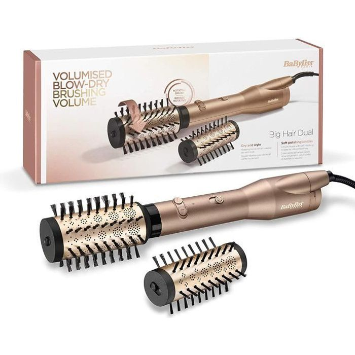 SPAZZOLA BABYLISS AS952E ROTARY BLOWER / Big Hair Dual