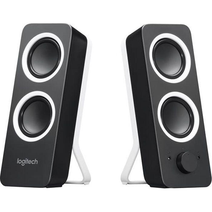 Logitech Z200 Speaker 2.0 Midnight Noir