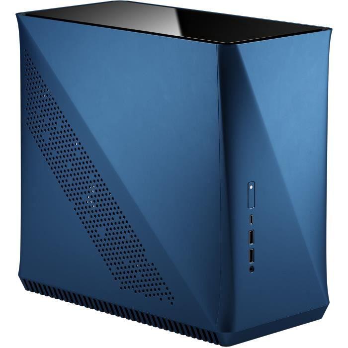 FRACTAL DESIGN BOITIER PC Era ITX Cobalt TG - Blu - Formato ATX (FD-CA-ERA-ITX-BU)