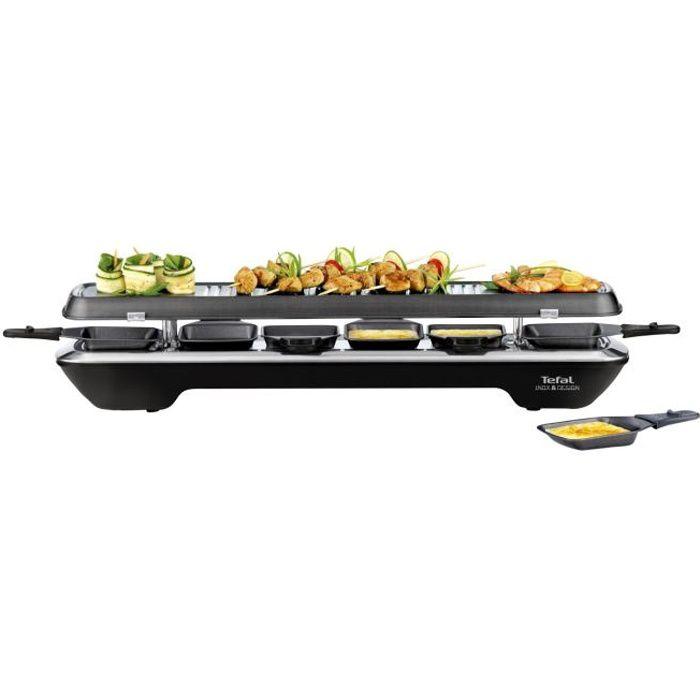 TEFAL RE522812 Griglia per raclette in acciaio inossidabile