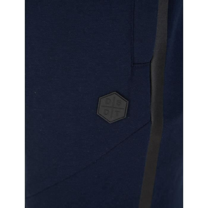 DISSIDENT Pantalon de Jogging Bleu Marine/Noir Homme