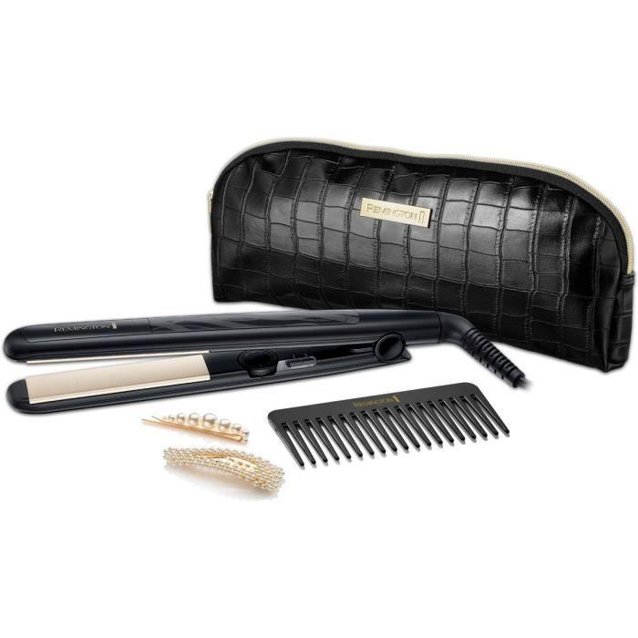 Remington - Piastra per capelli Style Edition - Set regalo per piastra per capelli in ceramica Style Edition