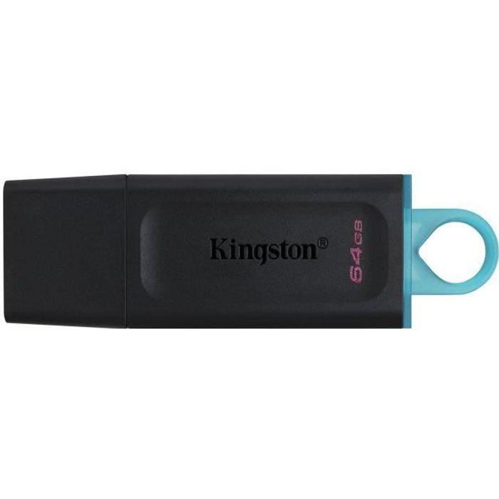 Chiavetta USB KINGSTON DataTraveler Exodia 64GB - Con cappuccio protettivo e anelli per portachiavi