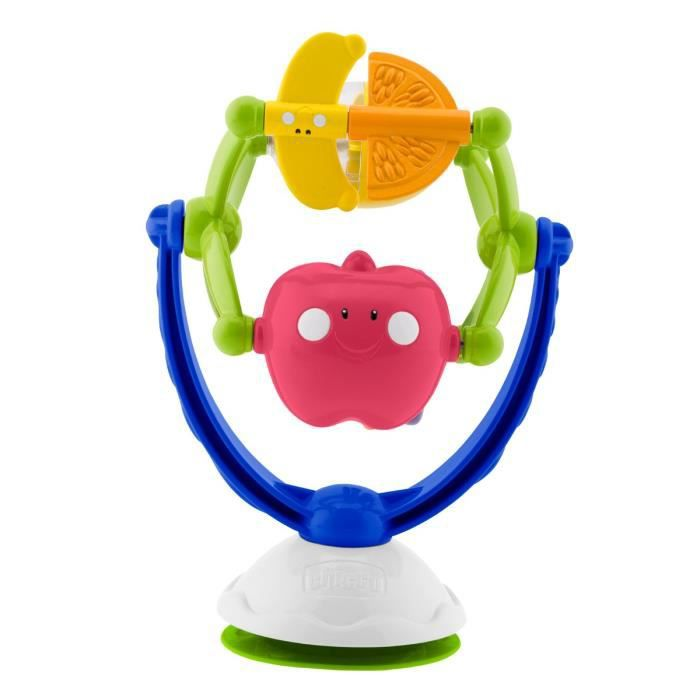 CHICCO Hochet Ventouse Musical Fruits