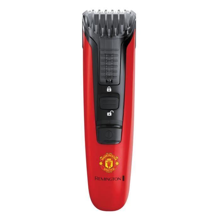 REMINGTON MB4128 Edizione Manchester United, Regolabarba Beard Boss, 9 lunghezze di taglio, lame precise