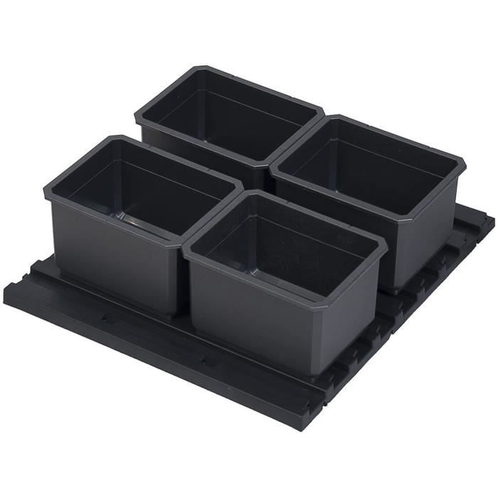 KS TOOLS Set di inserti per scatola di trasporto SCM, 5 pezzi