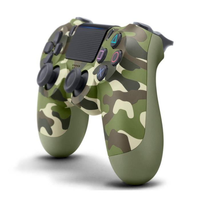Manette PS4 DualShock 4.0 V2 Green Camo - PlayStation Officiel