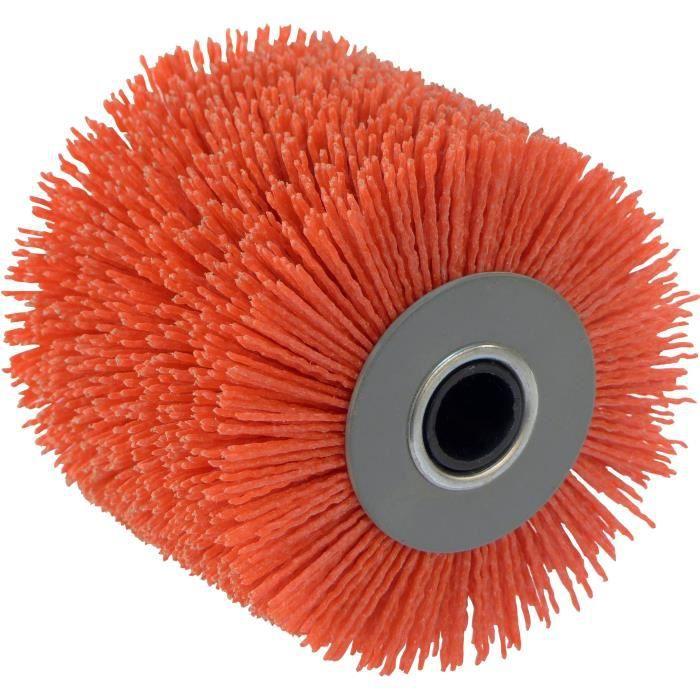 FARTOOLS Spazzola filo abrasivo in nylon rosso per rex120c e rex200