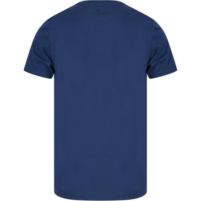 DISSIDENT T-Shirt City Bleu Homme