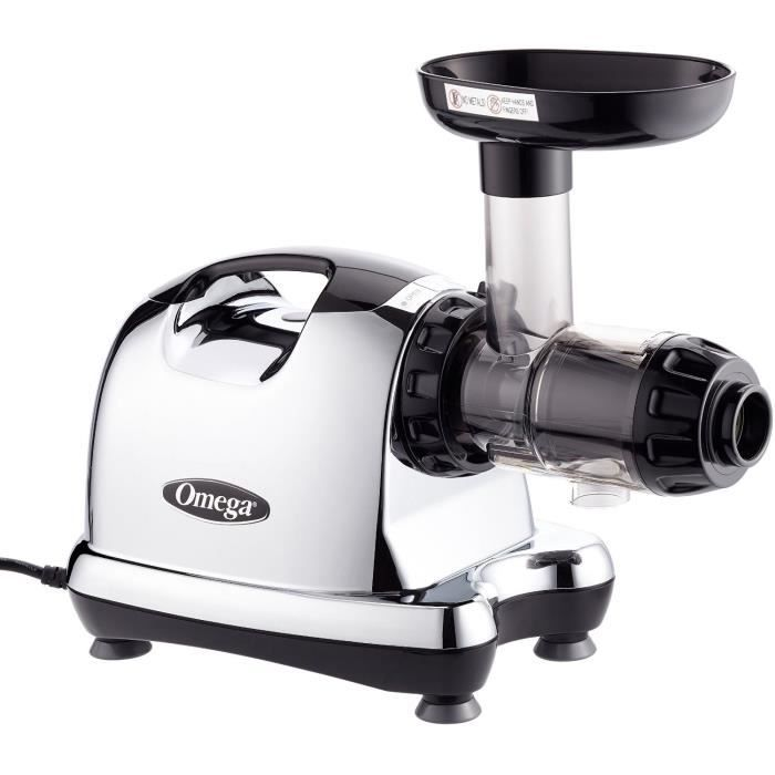 Estrattore di succo orizzontale OMEGA - 8226-80 rpm - Cromato