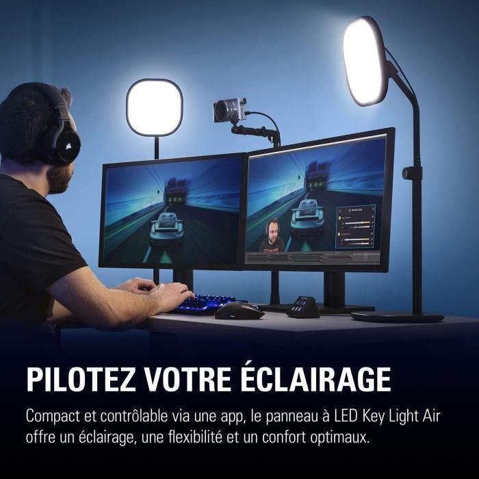 ELGATO KEY LIGHT AIR - Panneau LED Professionnel de Studio (10LAB9901)