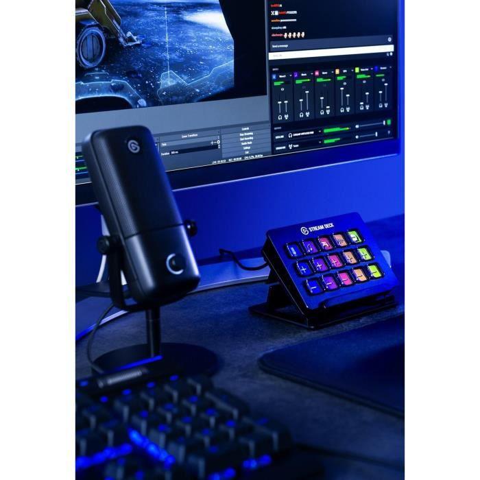 ELGATO WAVE 1 - Micro et solution de mixage numérique haut de game (10MAA9901 )
