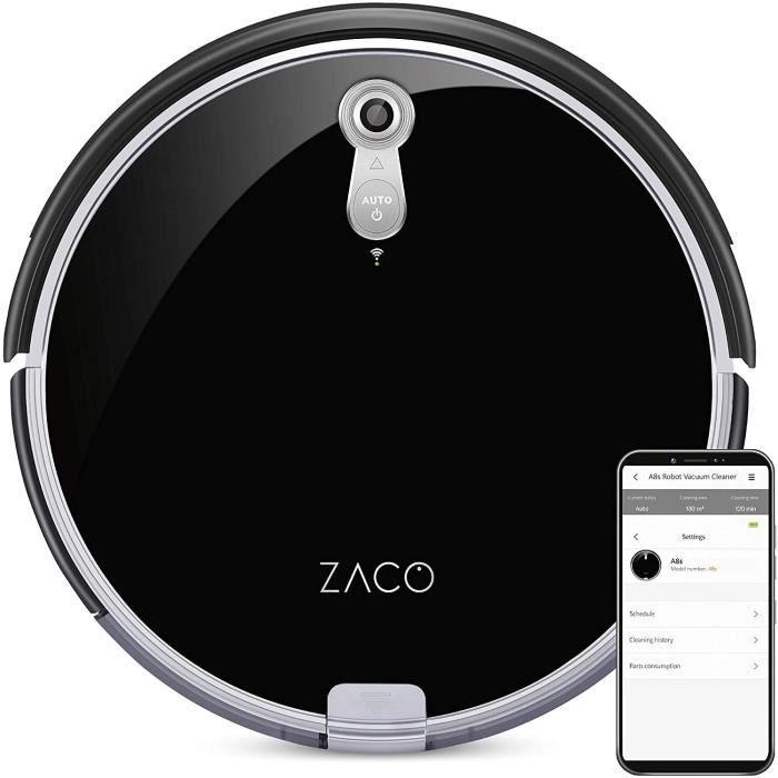 Robot aspirapolvere ZACO 501900 A8s - Autonomia 160min - Serbatoio 300ml - Potenza 22W