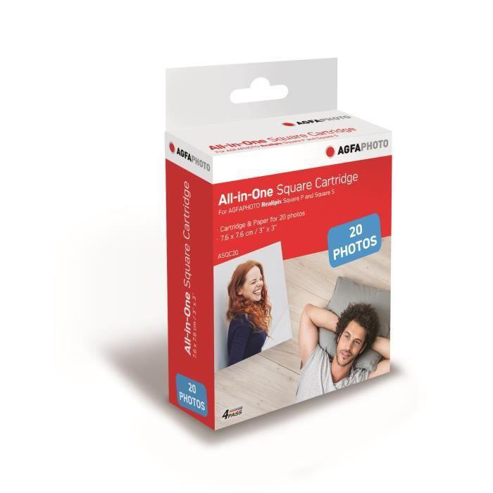 AGFA ASQC20 Cartiglio Imprimante Photo Realpix Square S - 3 * 3 \