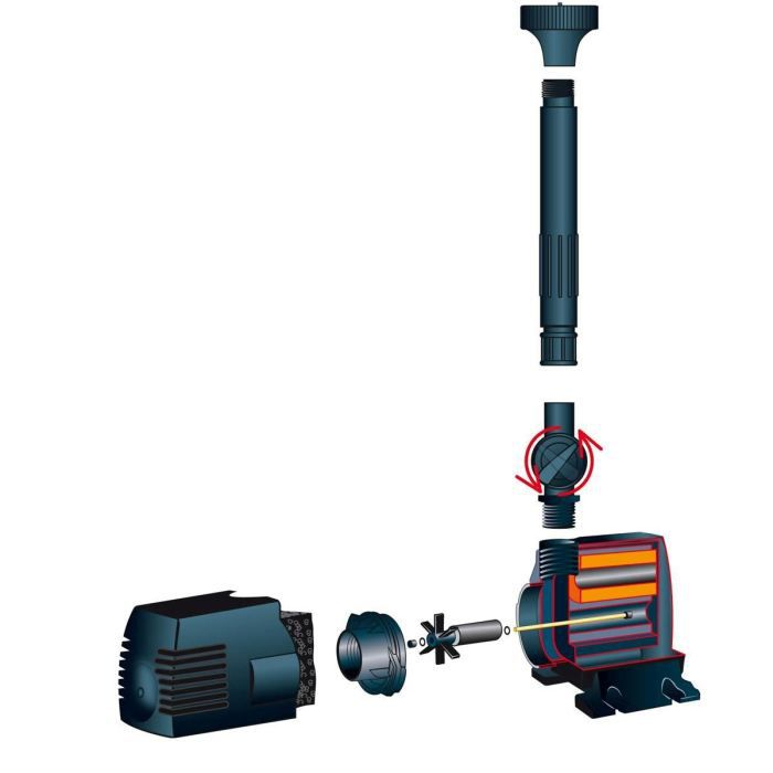 Pompe de bassin Ubbink Xtra 2300 - débit 2300l/h