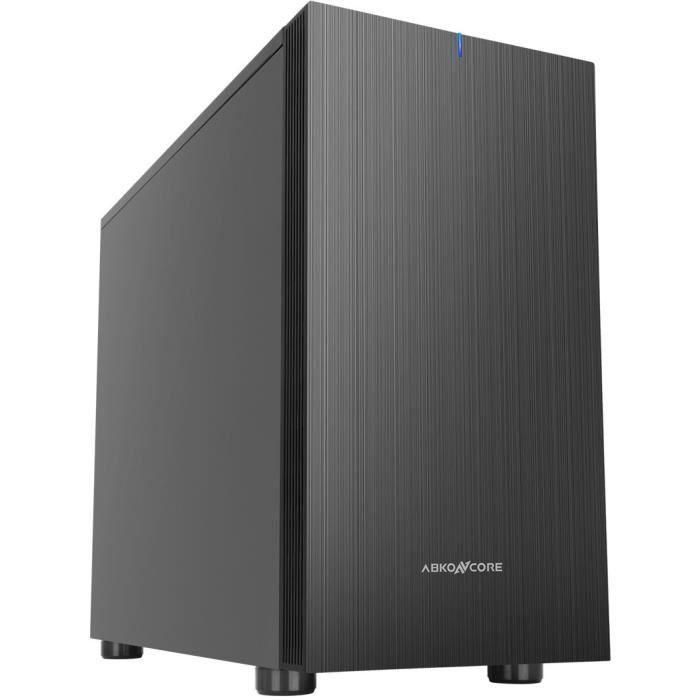 ABKONCORE PC CASE S300 Cronos Zero Noise Mini - Mini Tower - Nero - Formato Micro Atx (ABKO-CRO-ZEROM-SILENT)