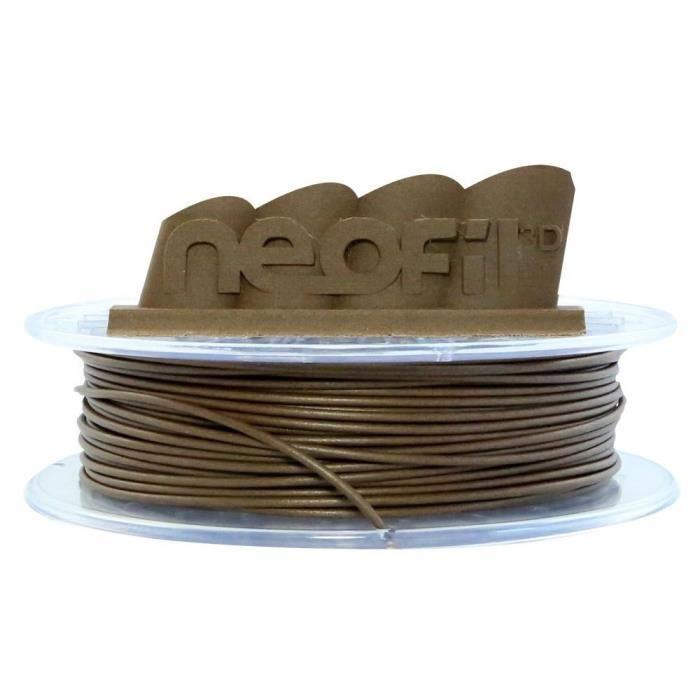 Filamento per stampante 3D NEOFIL3D WOOD - Legno - 1,75 mm - 750 g