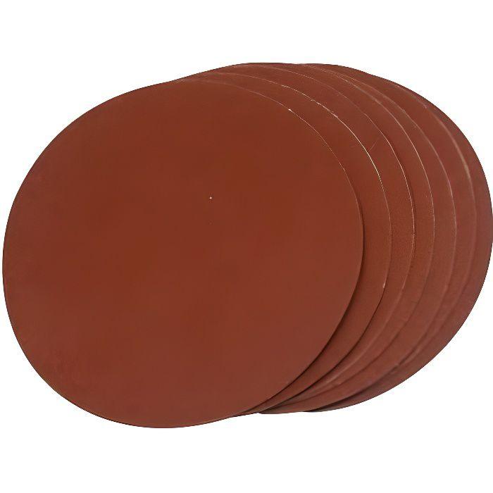 10 dischi abrasivi da 150 mm