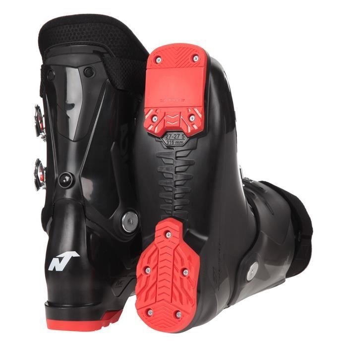 NORDIKA Chaussures de ski THE CRUISE 70 - Homme - Noir et Rouge