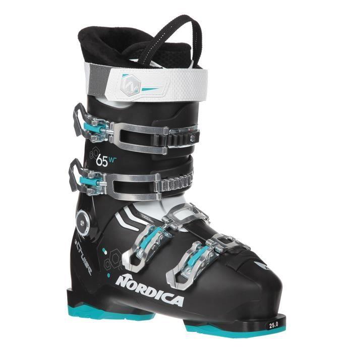 NORDIKA Chaussures de ski THE CRUISE 65 W - Femme - Noir et Turquoise