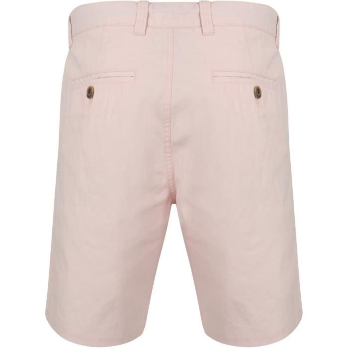TOKYO LAUNDRY Short Chino Rose Homme